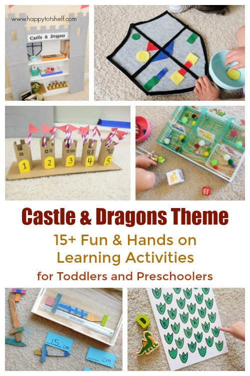 Castle and Dragon Learning Activities