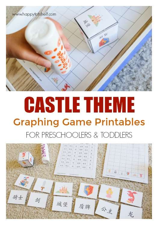 Castle theme graphing game
