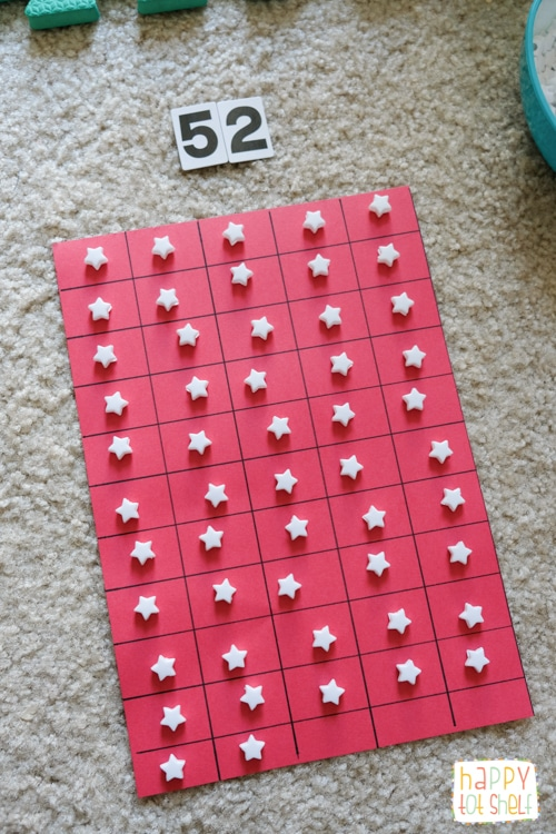 Counting stars Singapore theme activity for kids