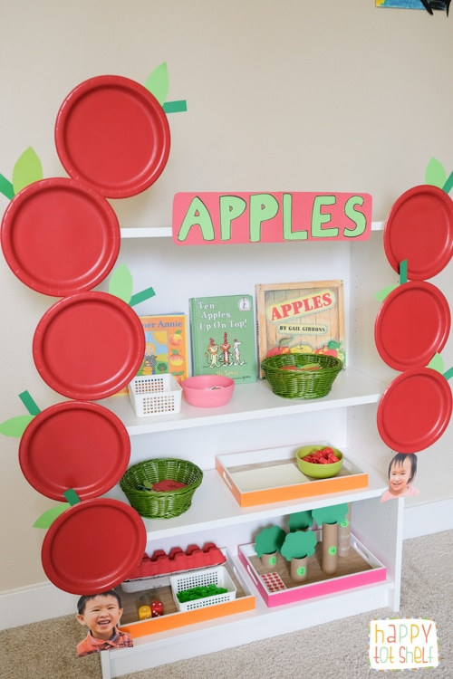 Apples theme activities for kids