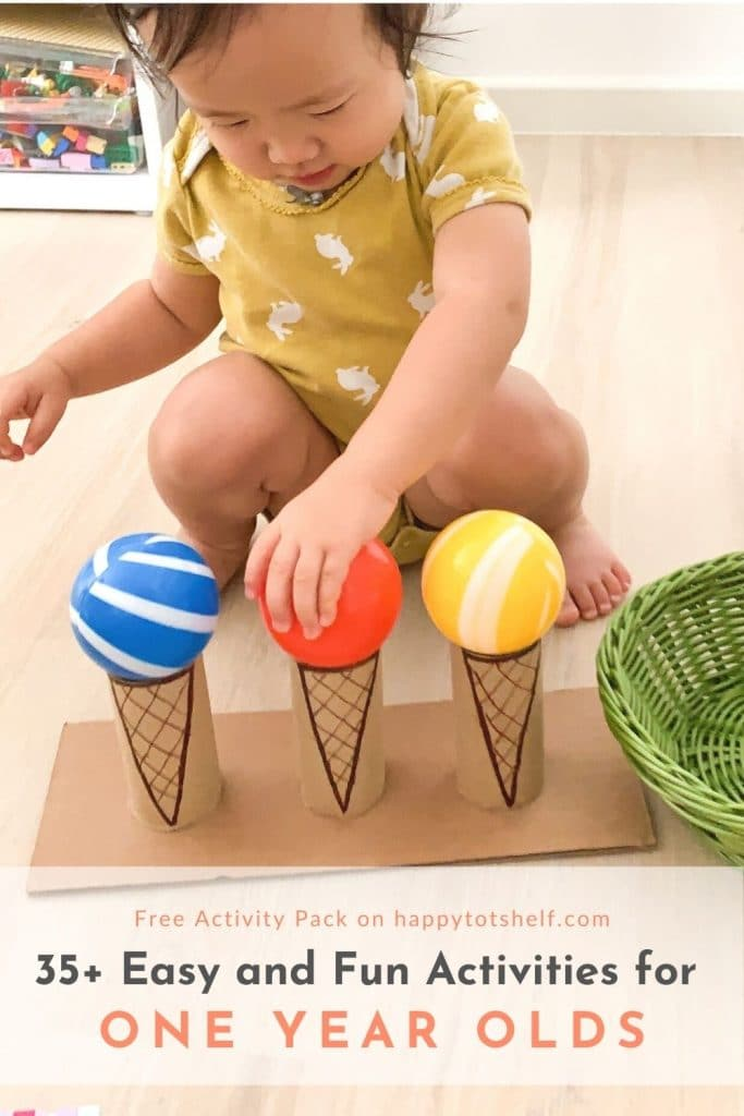 35+ Easy and Fun Activities for 1 Year Olds