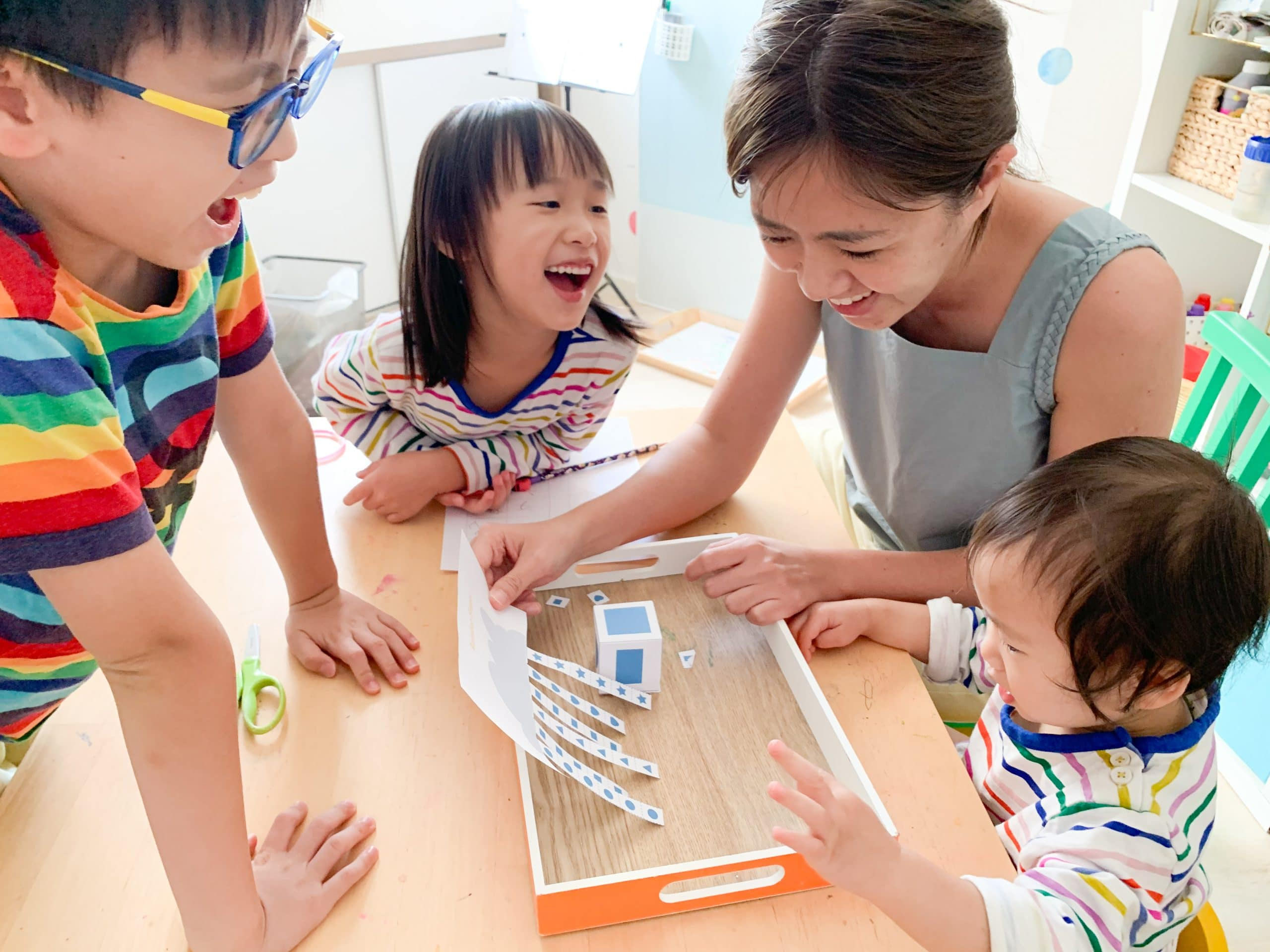 Fun learning at home with kids