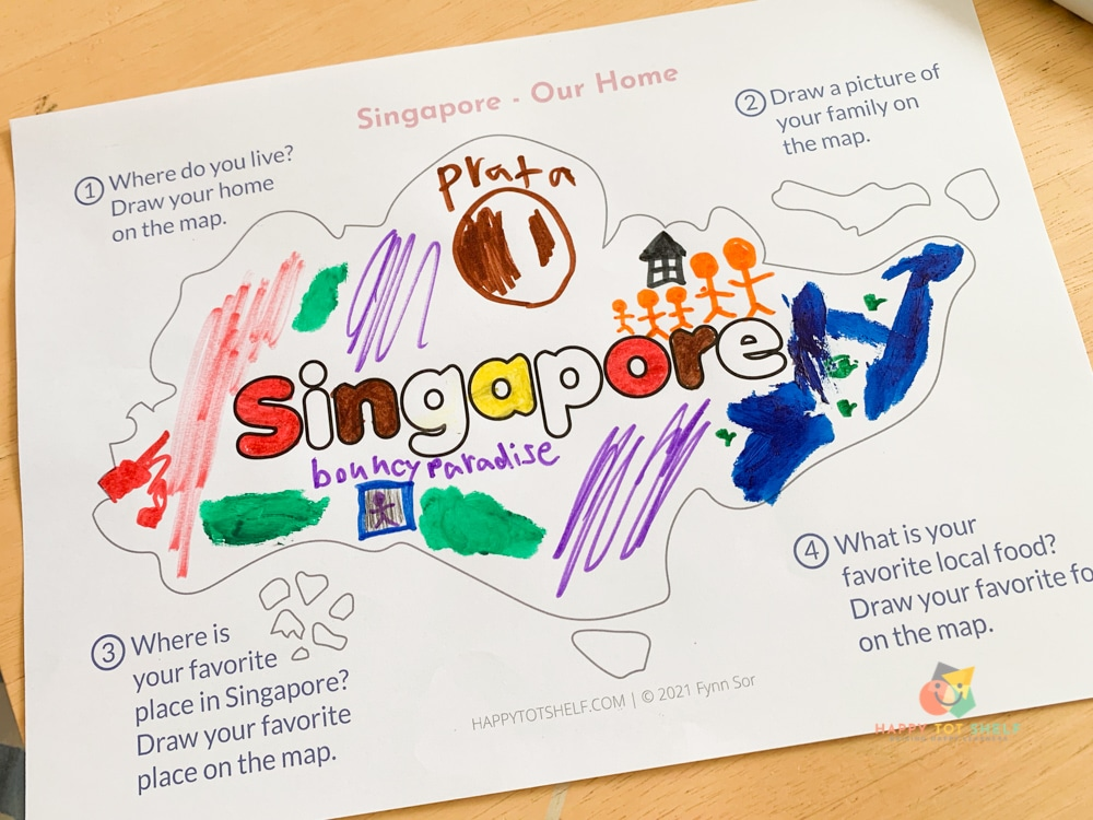 Fun and easy activities for kids to learn about Singapore